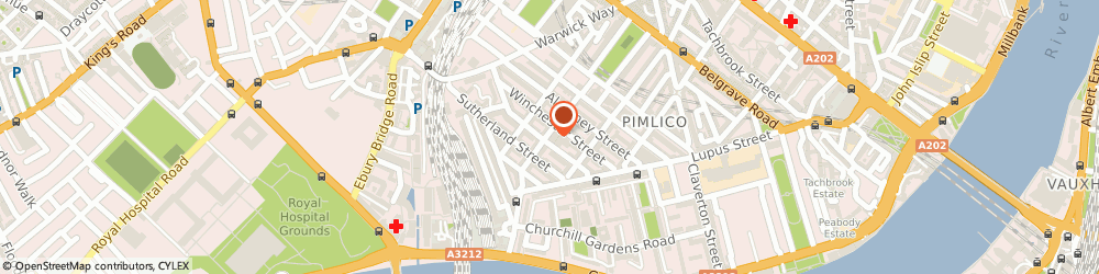 Route/map/directions to Red Laser Scanning, SW1V 4RR London, 23 Sussex Street