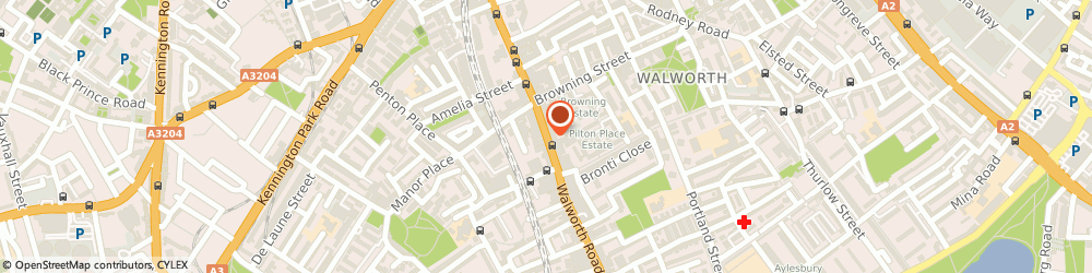 Route/map/directions to Champ Sports, SE17 1JE London, 232 Walworth Road