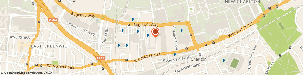 Route/map/directions to Decathlon Greenwich, SE7 7ST London, Unit 6b Bugsby Way