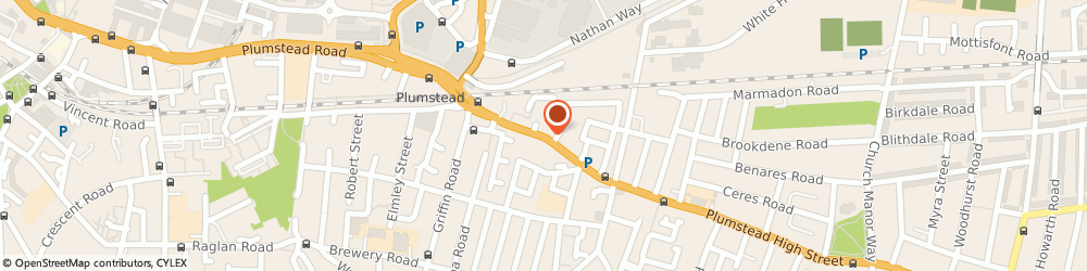 Route/map/directions to Eden Estates, SE18 1SL London, 62, Plumstead High Street