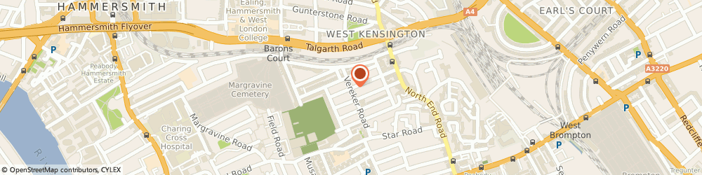 Route/map/directions to Institute Of Indian Culture, W14 9HE London, 4A, CASTLETOWN ROAD