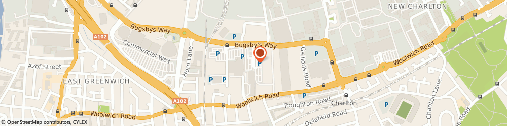 Route/map/directions to Matalan, SE7 7SR London, Bugsby Way
