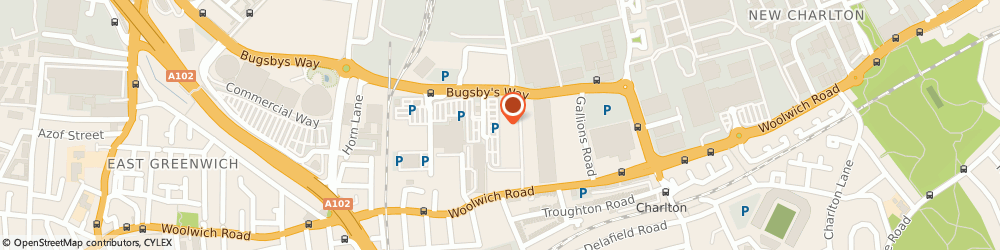 Route/map/directions to Sports World, SE7 7SR London, 1 GREENWICH SHOPPING PK, BUGSBYS WAY