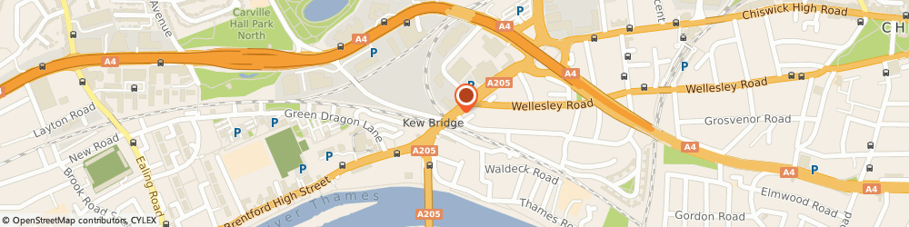 Route/map/directions to Locksmith Chiswick W4, W4 2DT London, Chiswick High Road