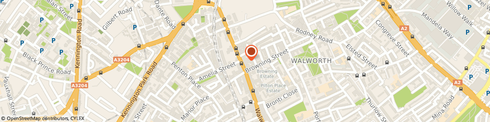 Route/map/directions to Sports Direct - London, SE17 1RW London, 181-183 Walworth Road