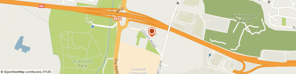Route/map/directions to Nicedrive Driving School, TW5 0LU Hounslow, 43 Church Rd
