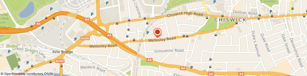 Route/map/directions to ersp-design, W4 4BU London, 19 Wellesley Road