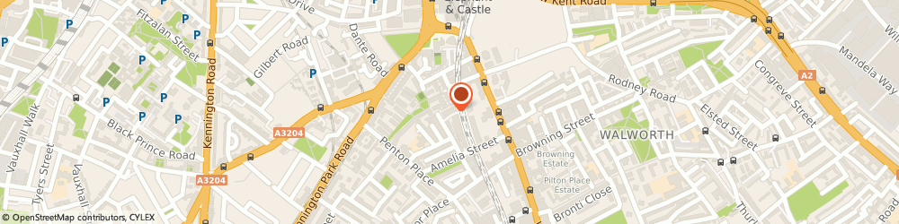 Route/map/directions to Perspective Art in Architecture Ltd, SE17 3AZ London, 87 Crampton St