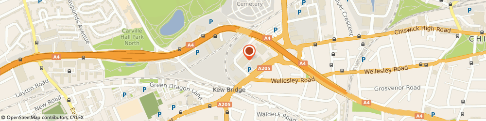 Route/map/directions to Motability Scheme at Robins & Day DS London West, TW8 0EX London, Capital Interchange Way