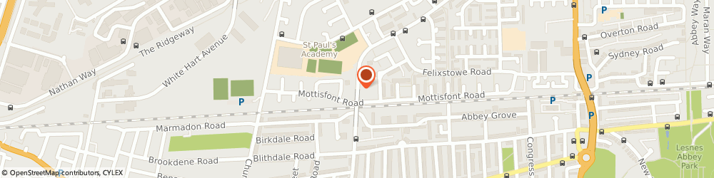 Route/map/directions to Local Locksmith Abbey Wood, SE2 9PT London, 42 Eynsham Drive