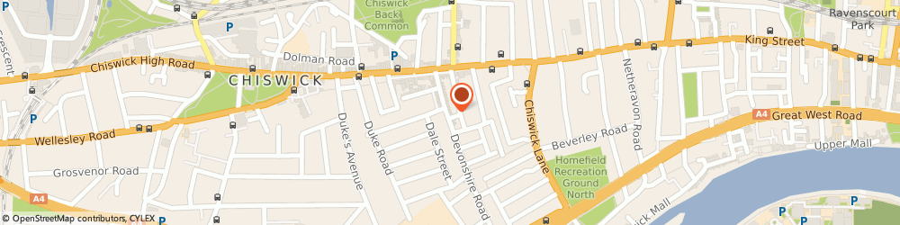 Route/map/directions to Himalayan Spice, W4 2HD London, 42 Devonshire Road