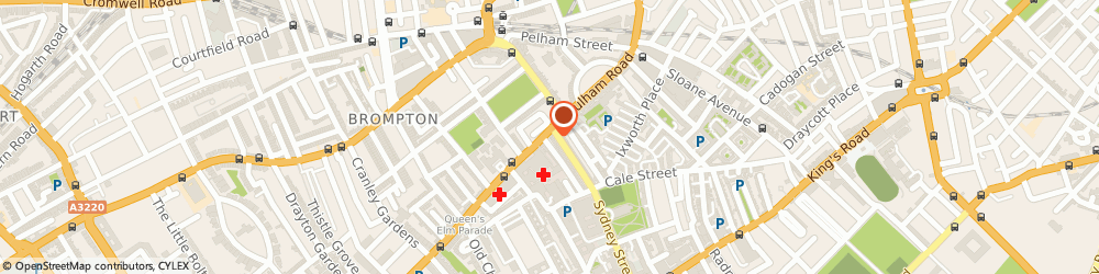 Route/map/directions to Butler & Wilson, SW3 6JN London, 189, FULHAM ROAD