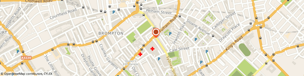 Route/map/directions to Sassi Holford Ltd, SW3 6HR London, 82 Fulham Rd