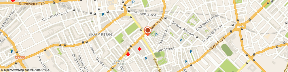 Route/map/directions to Divine Cashmere, SW3 6JW London, 171 Fulham Road