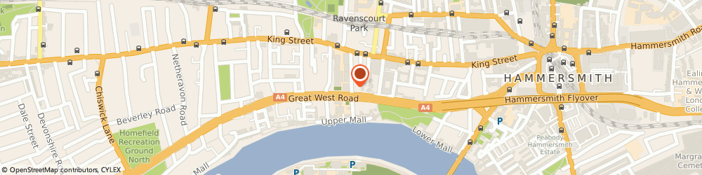 Route/map/directions to PSB Music Ltd, W6 9LD London, 15 Rivercourt Rd