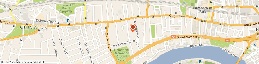 Route/map/directions to Hogarth Health Club, W4 2NW London, 1 Airedale Avenue