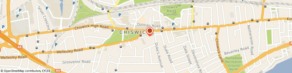 Route/map/directions to The Hemisphere Ltd, W4 4PH London, 10 BARLEY MOW PASSAGE