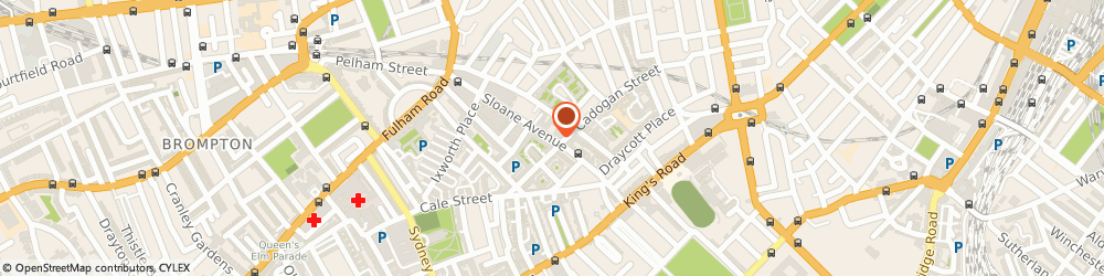Route/map/directions to Timpson Ltd, SW3 3DH London, 51-52, SLOANE AVENUE