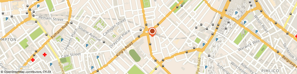Route/map/directions to Hamptons International Estate Agents Sloane Square, SW1W 8AH London, 7 Lower Sloane Street