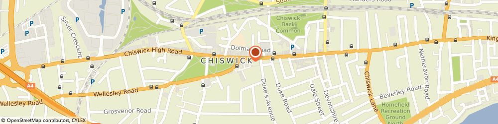 Route/map/directions to The Lemongrove Gallery, W4 4PU London, 255A CHISWICK HIGH ROAD