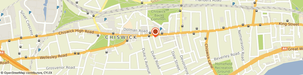Route/map/directions to Eco Age, W4 2DW London, 213 CHISWICK HIGH ROAD