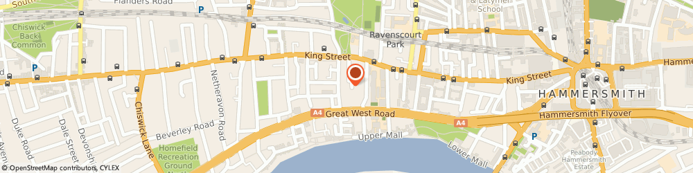 Route/map/directions to Royal Mail, W6 9NS London, 2 Vencourt Place