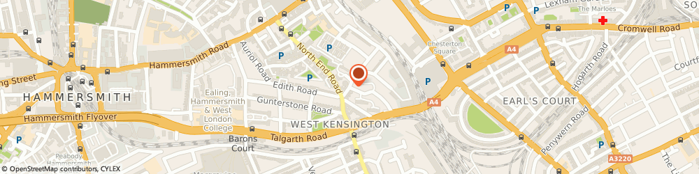 Route/map/directions to Sam Removals, W14 8TG London, 7 North End Crescent