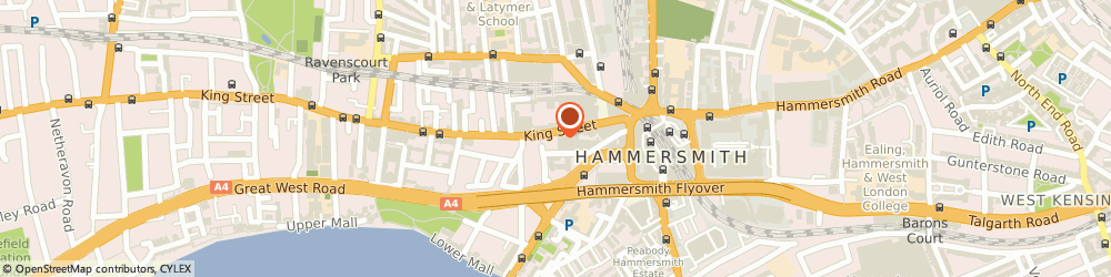 Route/map/directions to H&M, W6 9HW London, King Street
