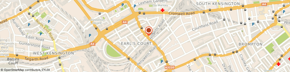 Route/map/directions to Kensington Car Services, SW5 9QF London, 204 Earls Court Rd