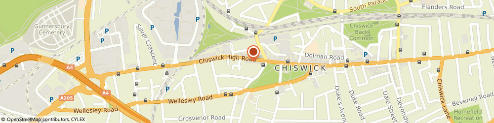 Route/map/directions to Bulger Wicks Decorating Ltd, W4 4HH London, Unit 150, 295 Chiswick High Road