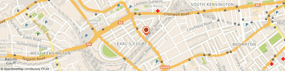 Route/map/directions to Gourmet Burger Kitchen (Earls Court), SW5 9RF London, 163-165 Earls Court Road