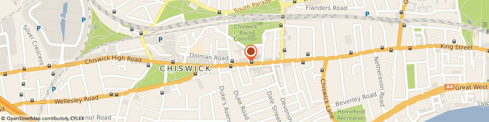 Route/map/directions to Hatley, W4 1PD London, 250 Chiswick High Rd