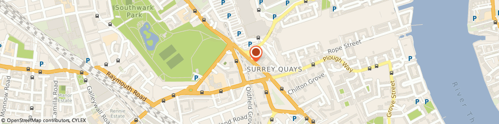 Route/map/directions to Uptown Cars 02072375555, SE16 2UG London, 128 Lower Road
