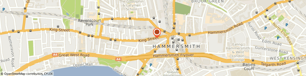 Route/map/directions to Kings Mall, W6 9HW London, King St