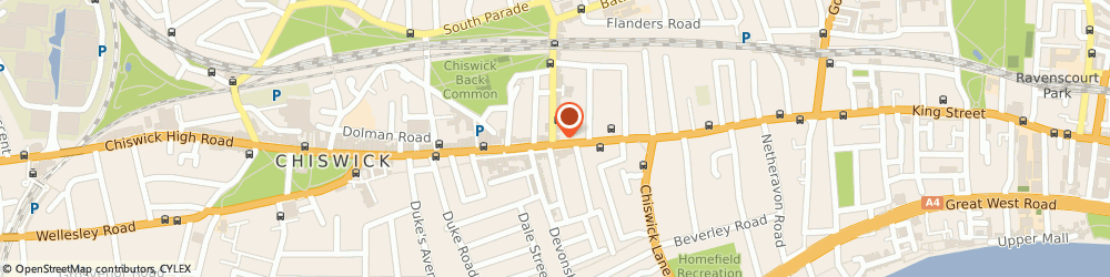 Route/map/directions to Joe and the Juice, W4 1PR London, 178 Chiswick High Road
