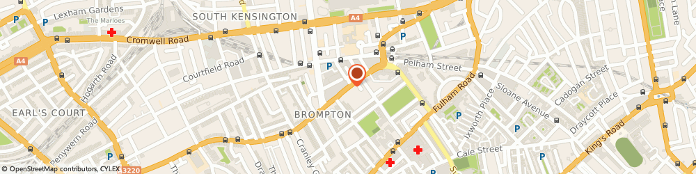 Route/map/directions to Man With Van South Kensington, SW7 2ND London, 81 Old Brompton Rd