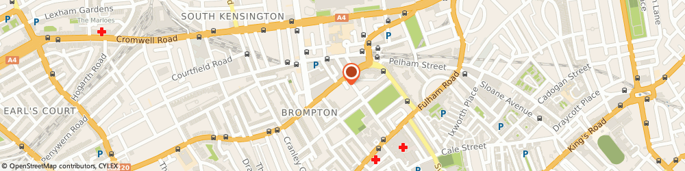 Route/map/directions to Beirut Express South Kensington, SW7 3JS London, 65 Old Brompton Road