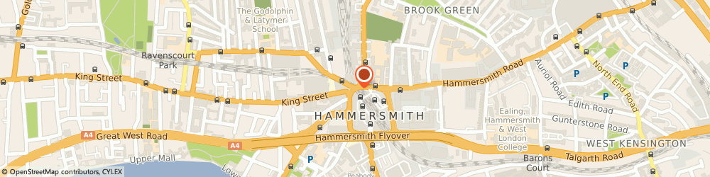 Route/map/directions to Pulse Juice Bar, W6 9YE London, Hammersmith Broadway
