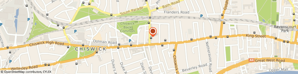 Route/map/directions to Marmalade Jewellery, W4 1RG London, 23 Turnham Green Terrace