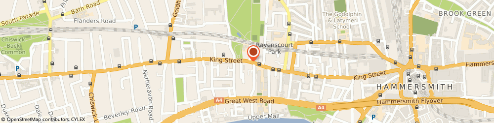 Route/map/directions to Mister Byrite, W6 0PZ London, 10 Kings Mall, King Street