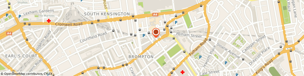 Route/map/directions to evolve wellness centre, SW7 3HG London, 10 Kendrick Mews