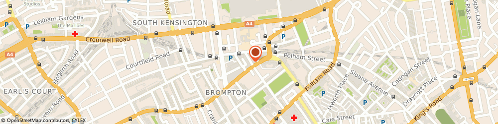 Route/map/directions to M & L ASSOCIATES, SW7 3EY London, 11 Bute Street