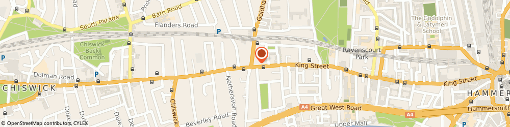 Route/map/directions to UPS Solutions Logistics, W6 0RX London, 366 King Street