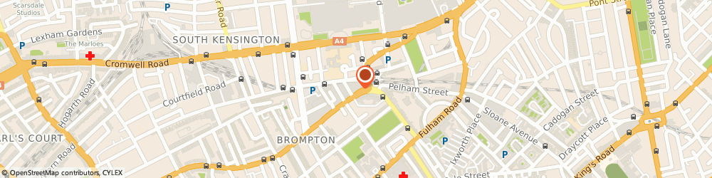 Route/map/directions to Garvian Ltd, SW7 3SS London, 28 Old Brompton Rd