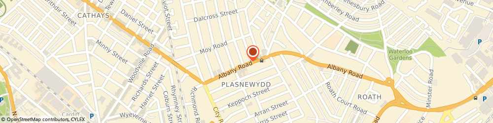 Route/map/directions to Boots Cardiff Albany Road, CF24 3LN Cardiff, 77-79 Albany Rd