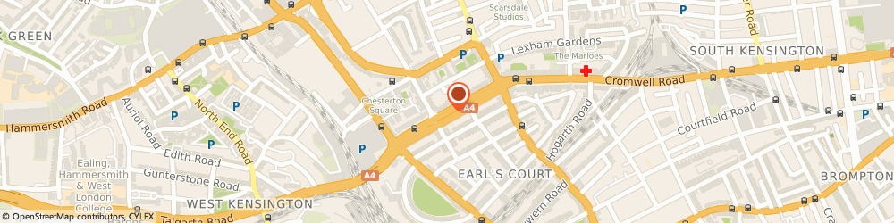 Route/map/directions to Local Locksmith Earl's Court, sw5 0tu London, 178 Cromwell Road