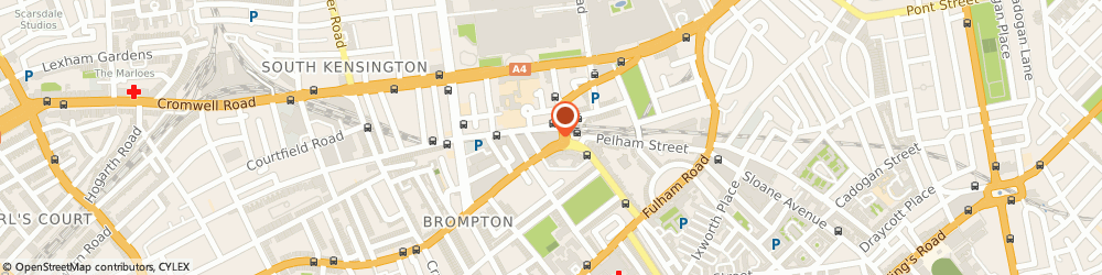 Route/map/directions to Timpson, SW7 3DL London, SNAPPY SNAPS 34 OLD BROMPTON ROAD