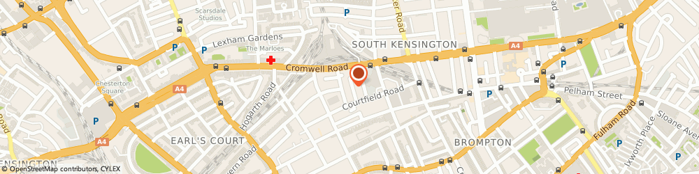 Route/map/directions to Sterling Media, SW7 4DE London, 20-21 Astwood Mews