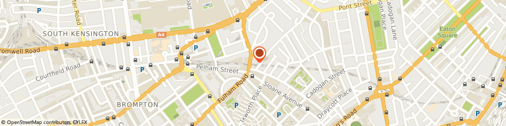 Route/map/directions to Fashion Joint, SW3 2DY London, 305 Brompton Rd