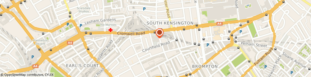 Route/map/directions to Kahn Tailor, SW7 4DN London, 75 Mody Road,Ug53, South Seas Centre